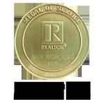 Omega Tau Rho Medallion of Honor